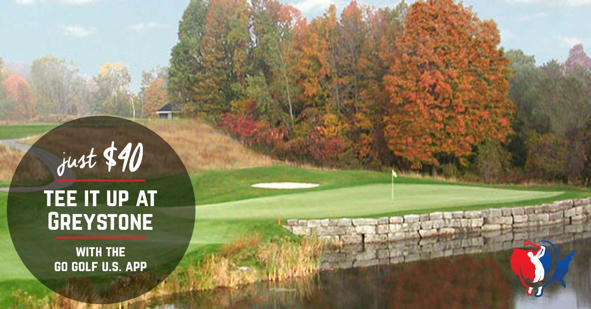 Golf discount at Greystone