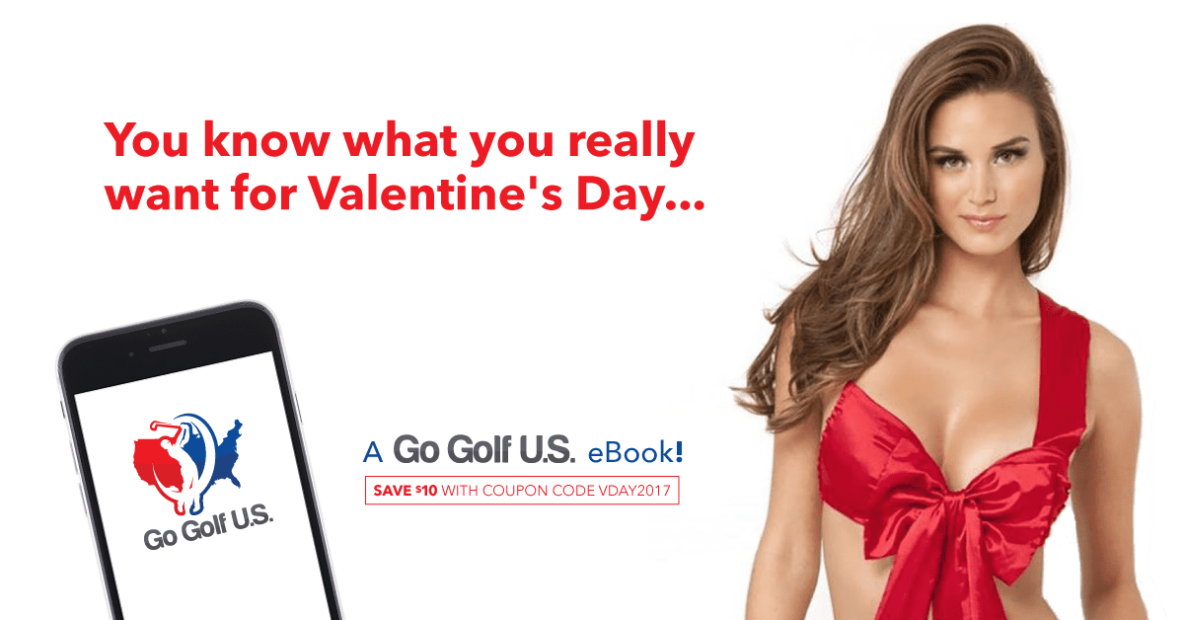 Valentines day golf gift