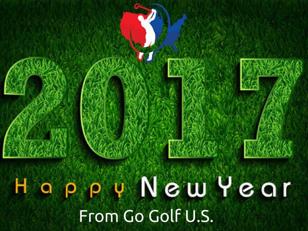 Go Golf U.s. new years resolution banner