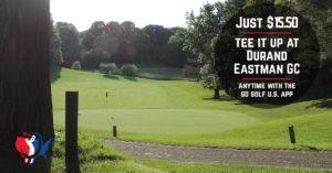 Golf discount at Durand