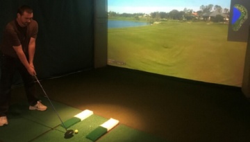Braemar Country Club Indoor Simulator