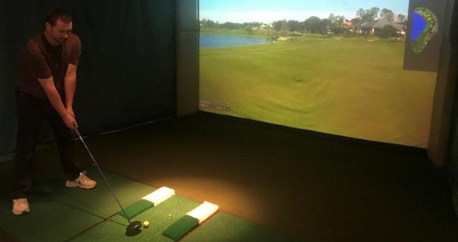 Braemar Country Club Indoor Simulator